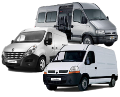 RENAULT MASTER ll,III / OPEL MOVANO A,B / NISSAN NV400,INT.