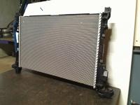 Радиатор основной 1.6 dci