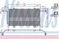 Радиатор кондиционера 1.9D/dTi, 2.8dci