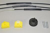 Ремкомплект стеклоподъемника (левый) Transporterparts 05.0300