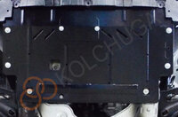 Защита двигателя, КПП 1.6dci