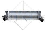 Радиатор интеркулера 1.9dci Рено Кенго