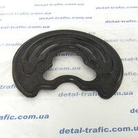 Защита заднего тормозного диска