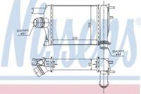 Радиатор интеркулера 1.5dci, 1.6