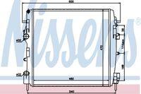 Радиатор основной 1.5dCi, 1.9dCi 4x4, 1.2 16V,  1.6 16V Рено Кенго
