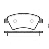 Тормозные колодки передние  4х4