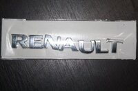 "Надпись ""RENAULT"""