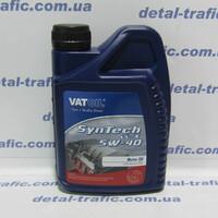 Масло двигатель5W40 1L(VAT OIL)