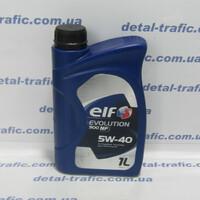 Масло двигатель5W40 1L(ELF) NF