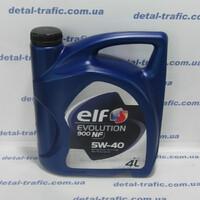 Масло двигатель 5W40 4L(ELF) NF