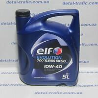 Масло 10W40 5L TurboDiesel(ELF)