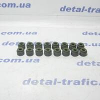Сальники клапанов 2.0dci (к-кт)