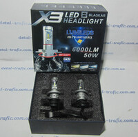 Лампы в фару H7/6000LM